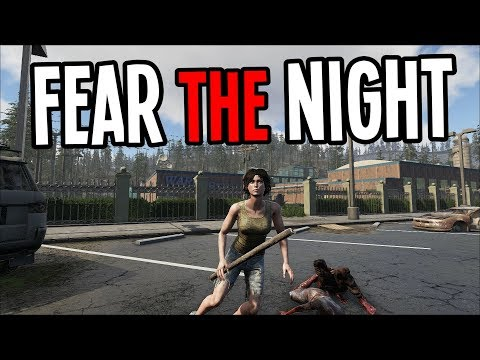 NEW Zombie Survival Game with ROBOT PETS?! - Fear The Night Gameplay - Ep 1