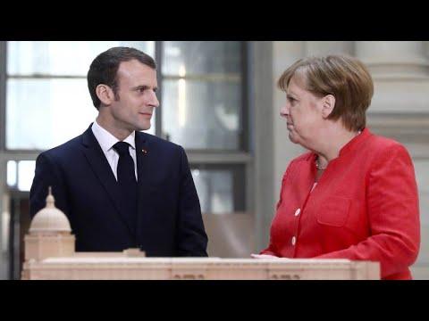 Merkel und Macron für Reform der Eurozone