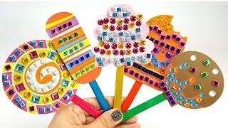 Детский набор рукоделия, украшаем мороженое