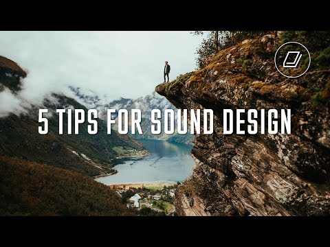 What You NEED To Know For Your SOUND DESIGN