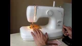 Sewing machine Швейна машина Victoria 2016 test хб, джинс, шкіра.