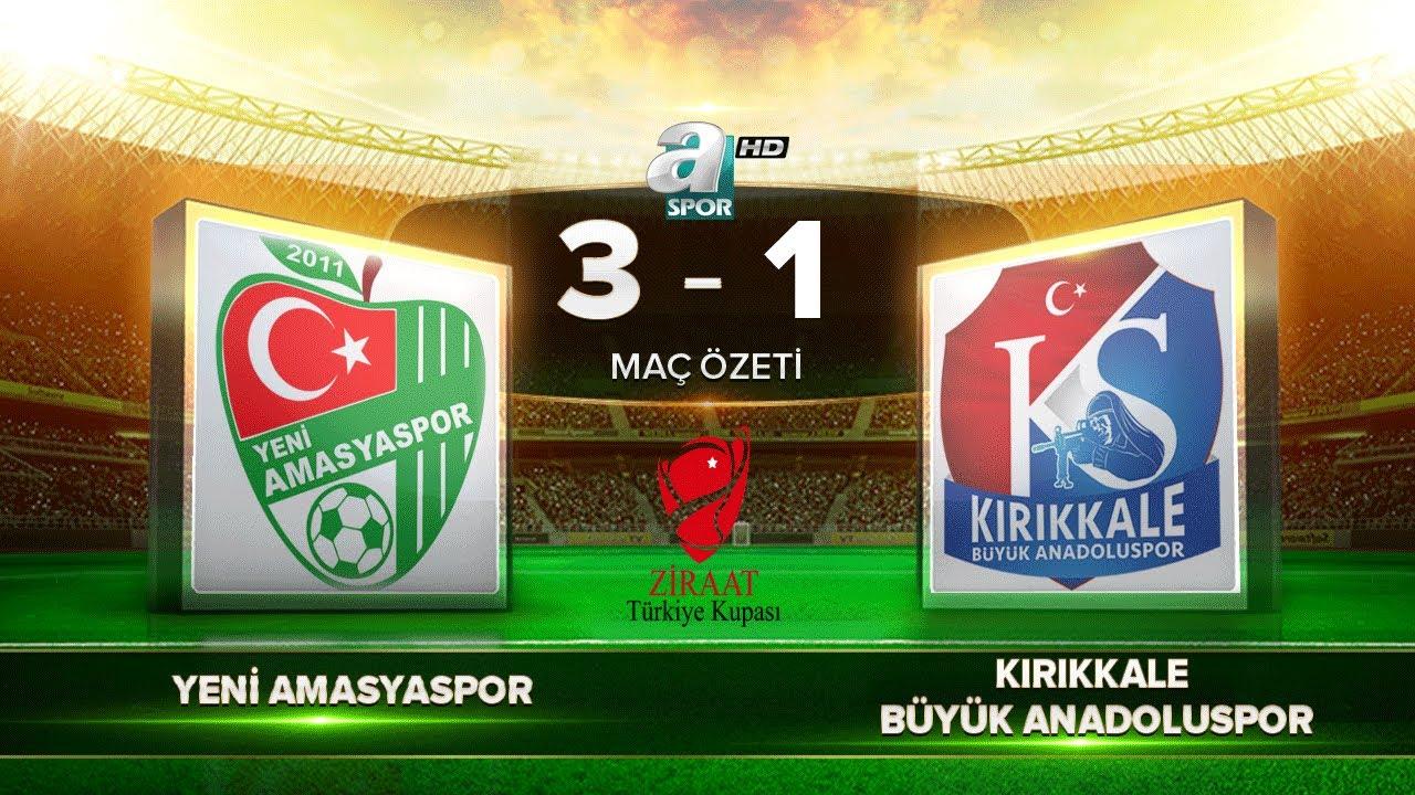 Yeni Amasyaspor 3-1 Kırıkkale Büyük Anadolu Spor  Maç Özeti