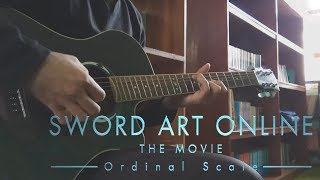 【Sword Art Online】(Ordinal Scale) Catch The Moment by LiSA (Fingerstyle) [Guitar Cover]【TAB】 Resimi