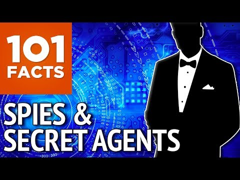 101 Facts about Spies & Secret Agents