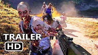 PS4 - Far Cry 5: Dead Living Zombies Final Trailer (2018)