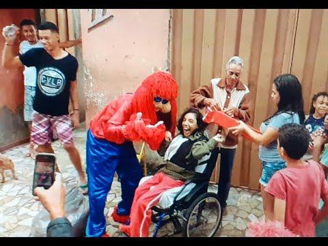 Trabalho social em Timóteo - Minas Gerais   Valdeir Fofão - Web Reporter Channel