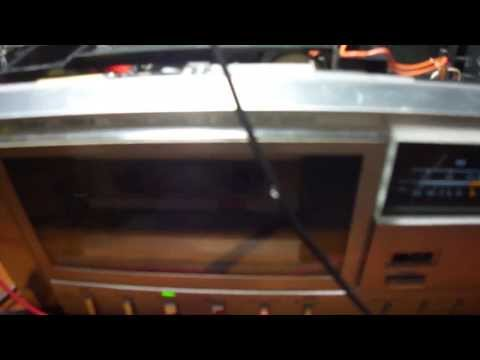 Cassette deck with variable playback speed