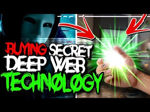 Buying Secret Technology from the Deep Web.. (never released)