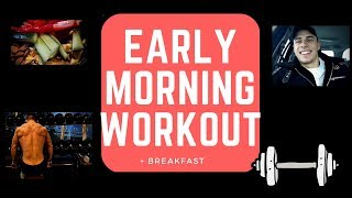MORNING WORKOUT ROUTINE + BREAKFAST