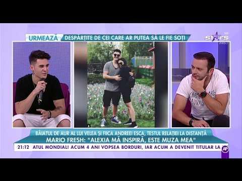 Mario Fresh, supus testului relației la distanță împreună cu Alexia Eram