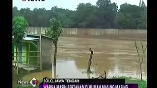 Sungai Bengawan Solo Meluap