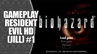 Resident Evil HD Remaster (PS3) - Gameplay Jill Valentine #1 (No Commentary)
