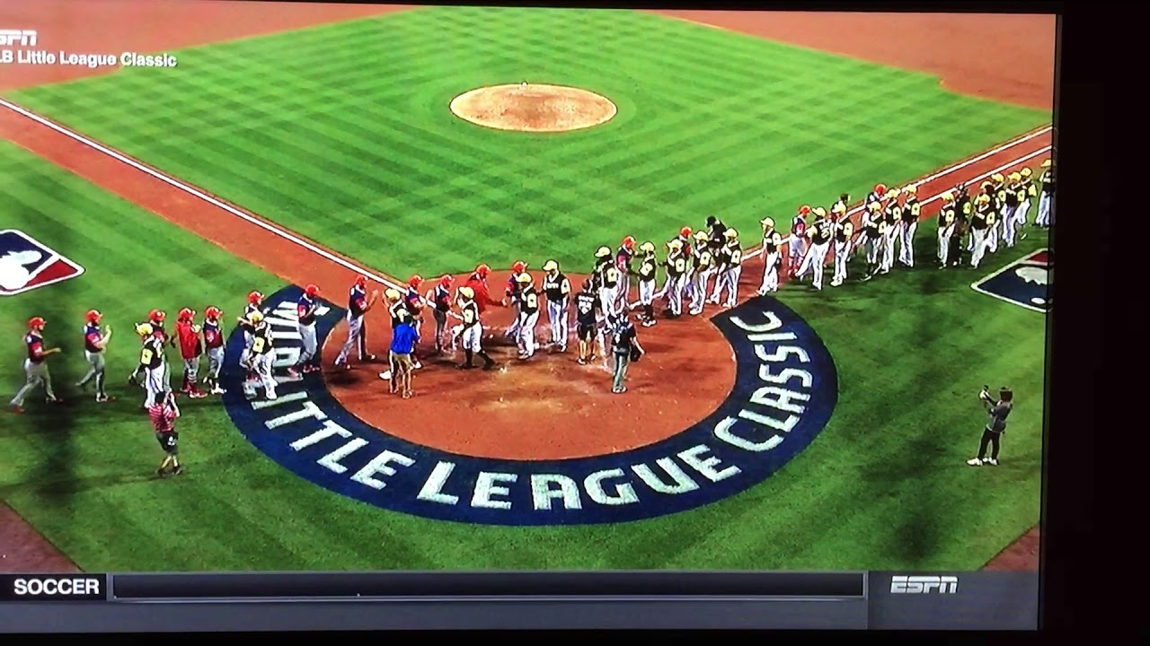 07be6b389a4 Pirates Cardinals post Little League Classic handshake - YouTube
