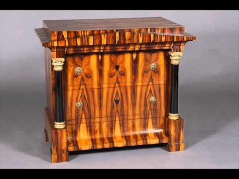 Writing secretary Biedermeier Style Furniture Austrian German Era
