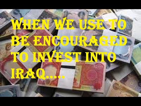 Professionals telling you to invest in Iraqi Dinar