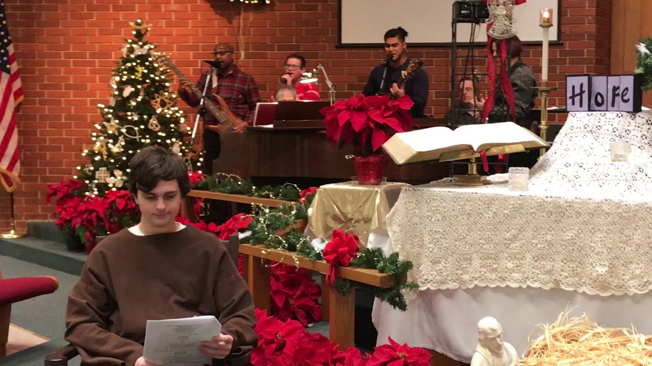 """There is Joy"" (Hay Libertad/Art Aguilera) - Worship song at Trinity UMC 12/17/2017"