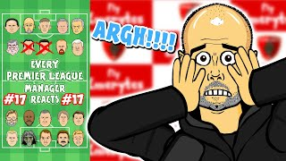 😱ARGH!!!😱 #17 Every Premier League Manager Reacts! 19/20