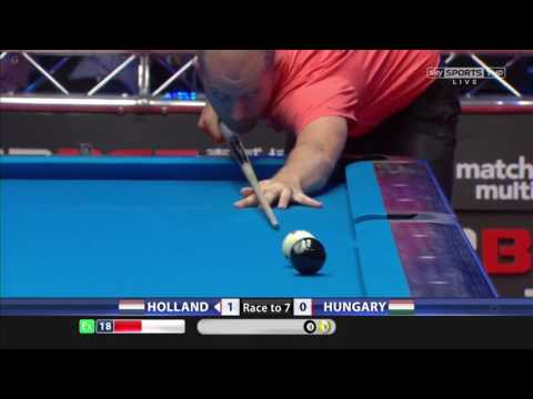 Holland vs Hungary,  World Cup Of Pool 2017 (R1)