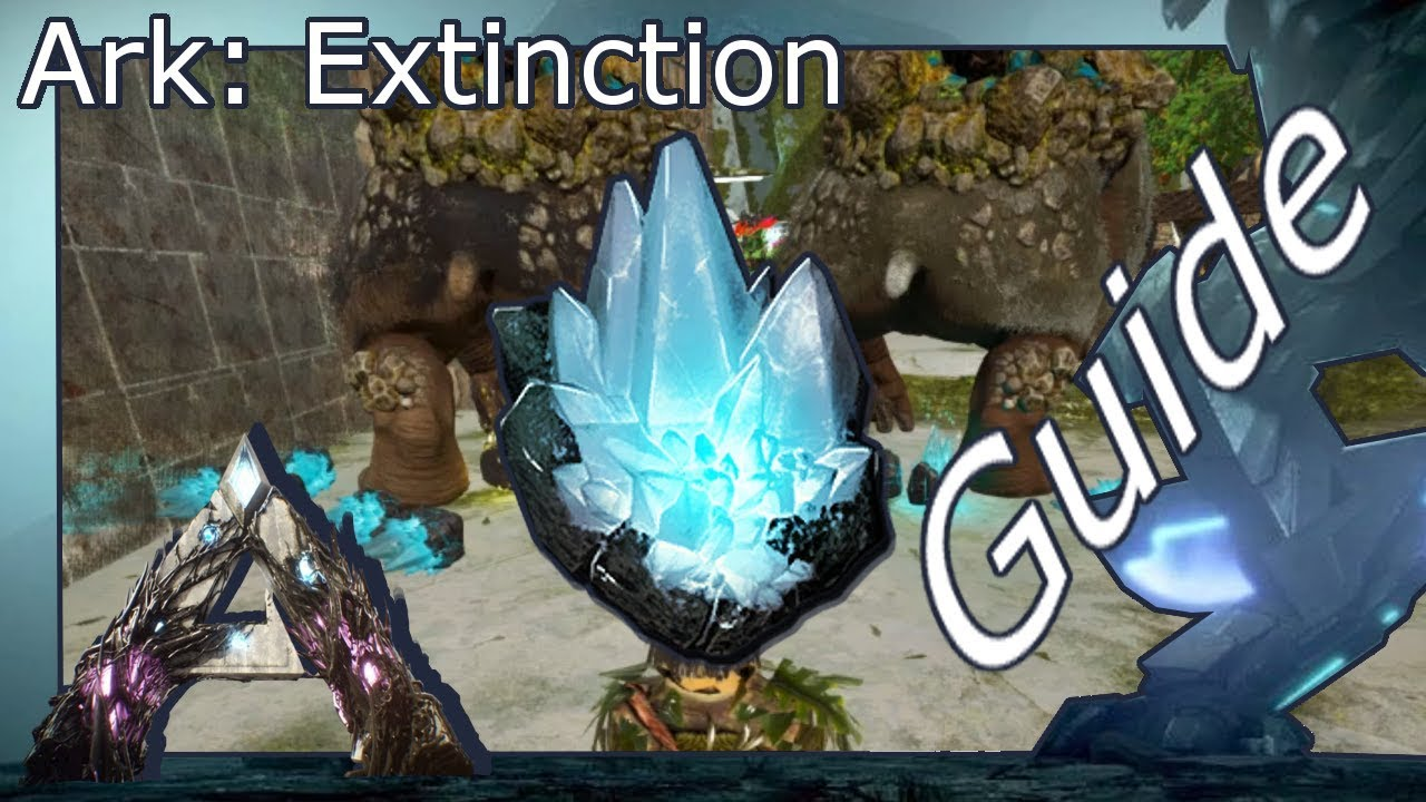 Ark: Extinction ► Guide: Gacha-Crystals produzieren (German/Deutsch)