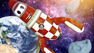 Rocky die Rakete ist voll mit Weltraumstaub - Autopolis  💧 Lastwagen Zeichentrickfilme für Kinder