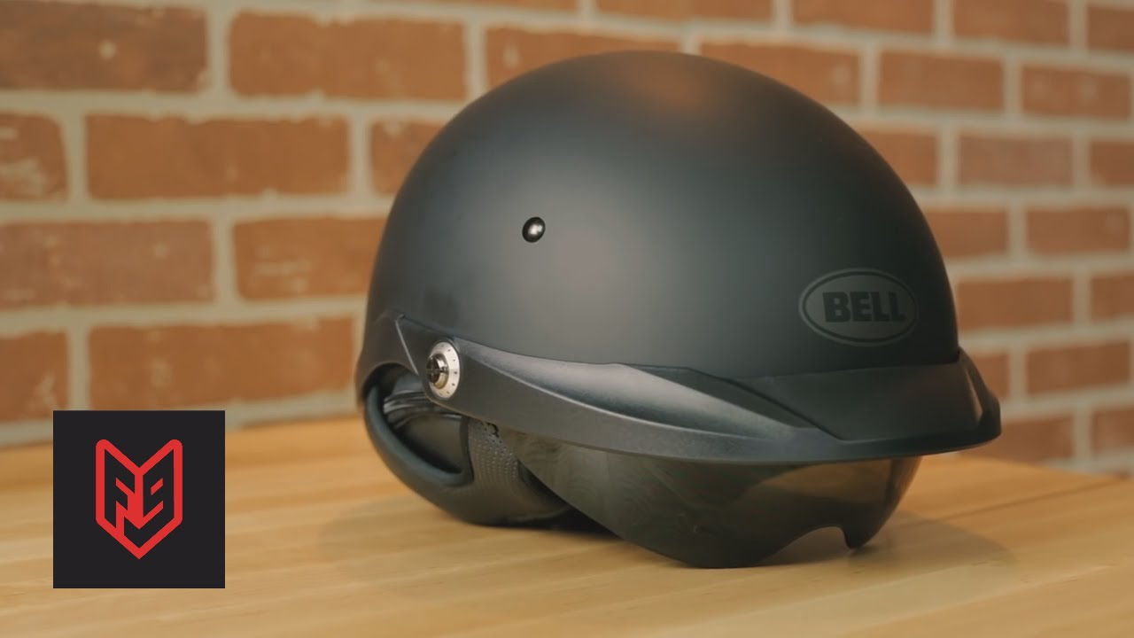 Best motorcycle half helmets youtube for Best helmet for motor scooter