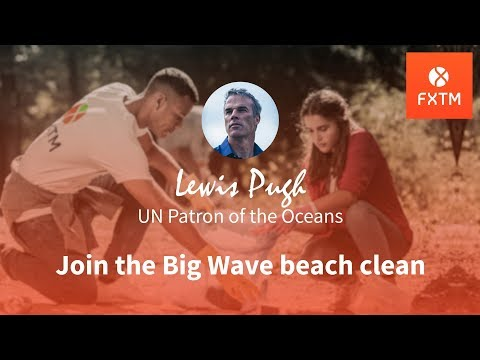 Do you feel relaxed? | FXTM Big Wave Beach Clean
