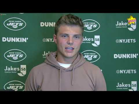 No. 2 NFL draft pick Zach Wilson on starting for the New York Jets: 'Position has to be earned'