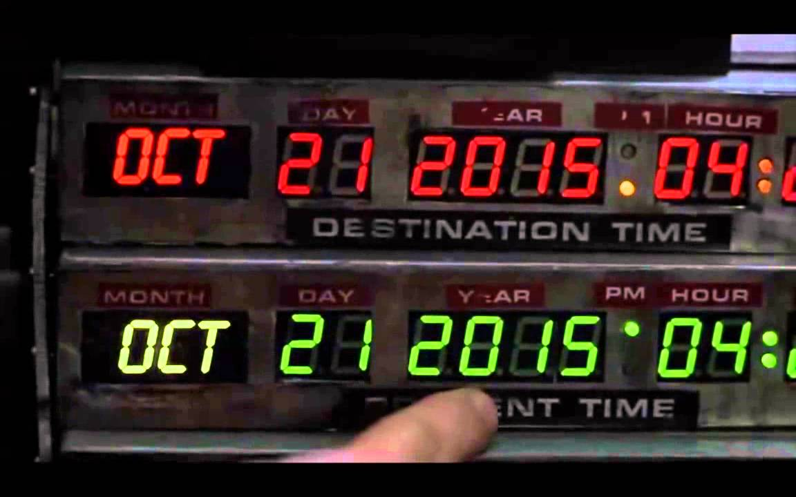 Once and for All: Back to the Future II 's Future Date Is ...