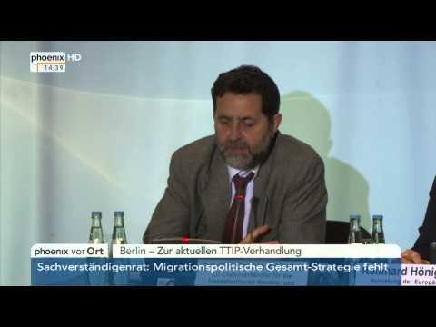 TTIP: Ignacio Garcia Bercero zum Stand der Verhandlungen am 28.04.2015