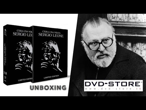 Unboxing - C'era una volta Sergio Leone - Limited Edition (DVD-Store.it)