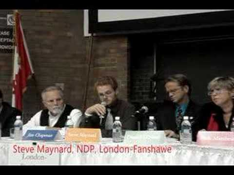 Ontario Election 2007 Health Care Debate: Intro