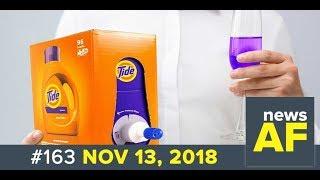 News AF LIVE - The Tide Box Looks Like Wine - 11/13/18