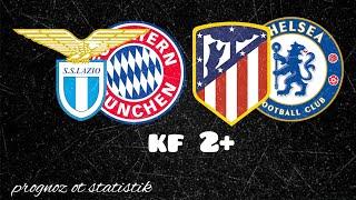 Лацио - Бавария, Атлетико Мадрид - Челси. Прогноз на 23.02.21г.