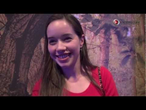 EXCLUSIVE  with Anna Popplewell for Halo 4 Forward Unto Dawn