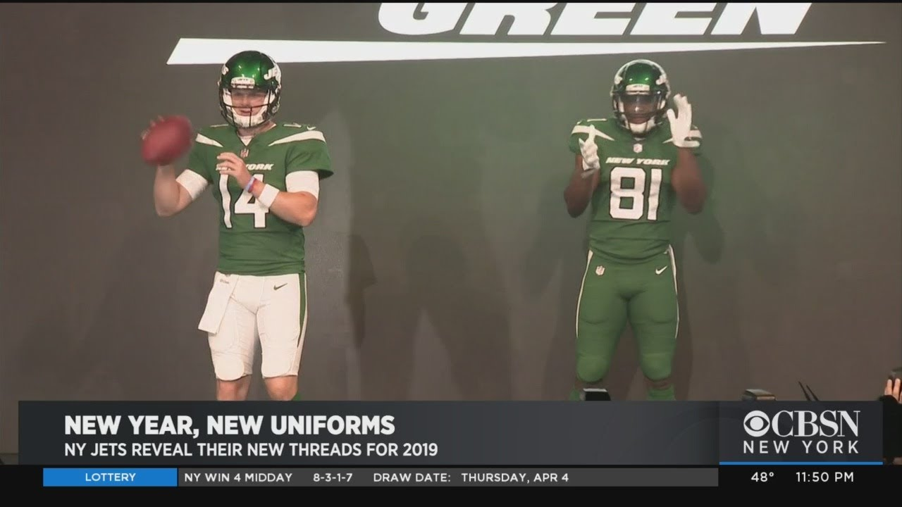 29ff3267ec3 New Jets Uniforms Revealed - YouTube