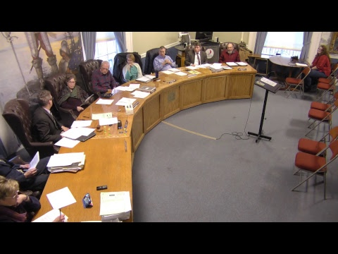 City of Plattsburgh, NY Meeting  3-7-19