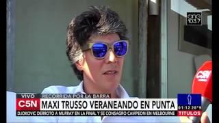 C5N - Noches Mías: Programa 01/02/2016 - Entrevista a Maxi Trusso en Punta del Este