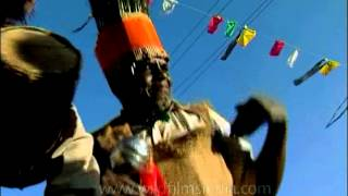 Afro - Indian Siddhi tribes from Gujarat having fun in music