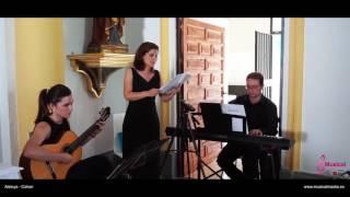 Aleluya Leonard Cohen - soprano bodas piano y guitarra Bodas Murcia wedding