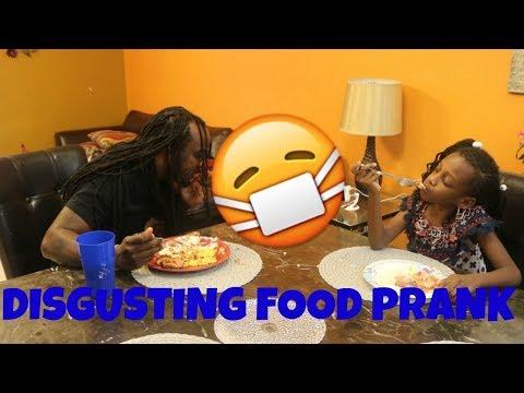 DISGUSTING FOOD PRANK