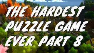 The Hardest Puzzle Game The Witness 8