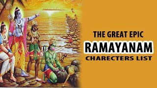 The Great Epic Ramayana Characters List