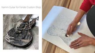 NAMM Guitar - The Worlds First Woodcut Telecaster