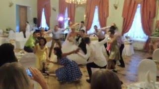 Свадьба Анны и Александра, постановка хореографа ЦТ