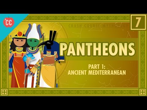 Pantheons of the Ancient Mediterranean: Crash Course Mythology #7