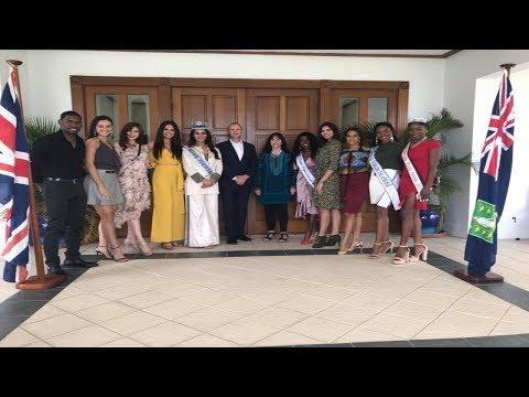 Manushi Chhillar arrives in British Virgin Islands
