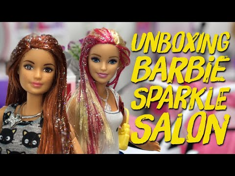 Unboxing Barbie Girl