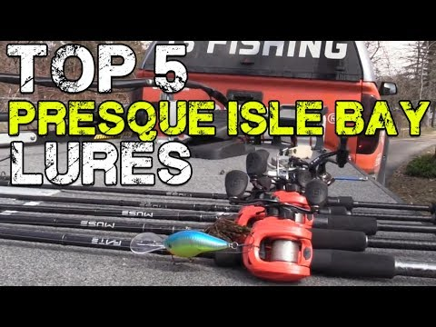 Dave Lefebre's Top 5 Baits For Bass Fishing Presque Isle Bay