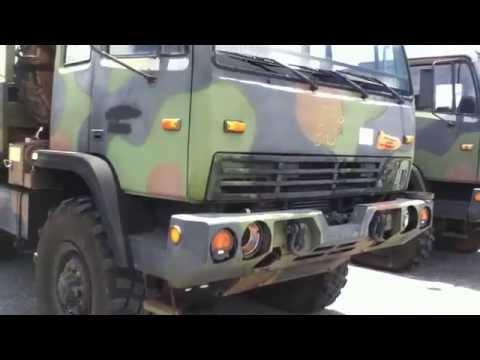 2002 Stewart & Stevenson M1083A1 Cargo Truck on GovLiquidation.com