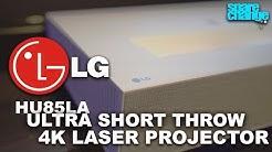 Better Than OLED or LED? LG HU85LA 4K Ultra Short Throw Laser Projector Setup & Review
